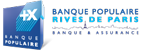 Logo Banque Populaire Rives de Paris